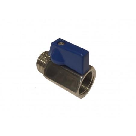 """1/2"""" BSP mini válvula de esfera SS316"""