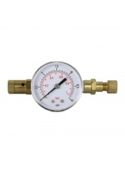 Adjustable PRV with Gauge