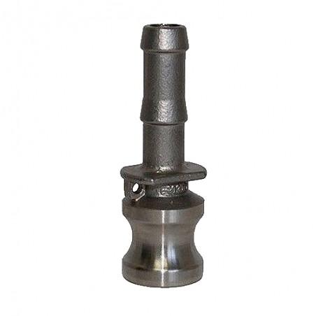 "Kamlock / Camlock 1/2"" BSP tipo E in acciaio inox"