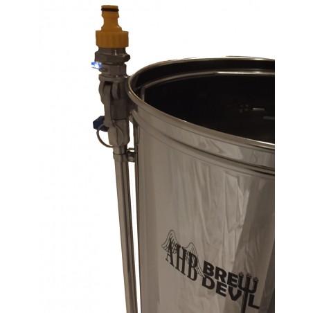 Adaptador de descarga traseiro da bomba Brew Devil