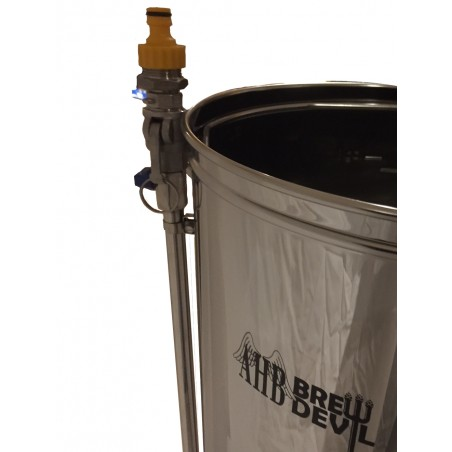 BrewDevil Pump Back Flush Adapter