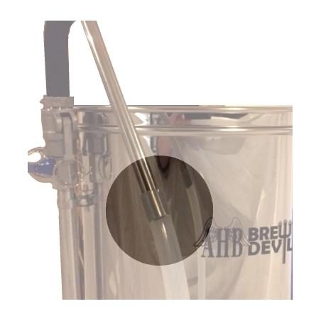 """3/8"""" Platinum tubo de silicone Curado (9,5 milímetros ID x 15,9 milímetros OD) por metro"""