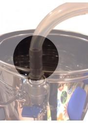 """3/8"""" platinum tubes de silicone (9,5 mm x 15,9 mm à l'intérieur à l'extérieur) par mètre"""