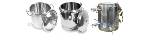 Stainless Steel Stockpots and Thermos Pots